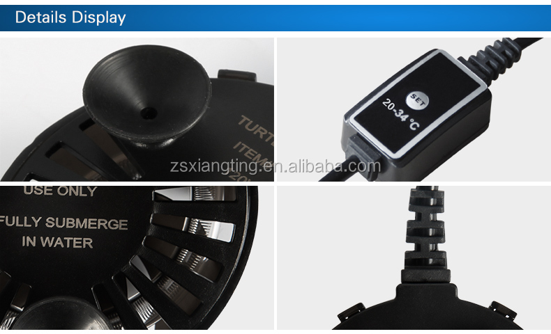 safety electricsmall round heater for aquarium fish tank