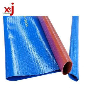 4 inch flexible pvc lay flat suction hose pipe