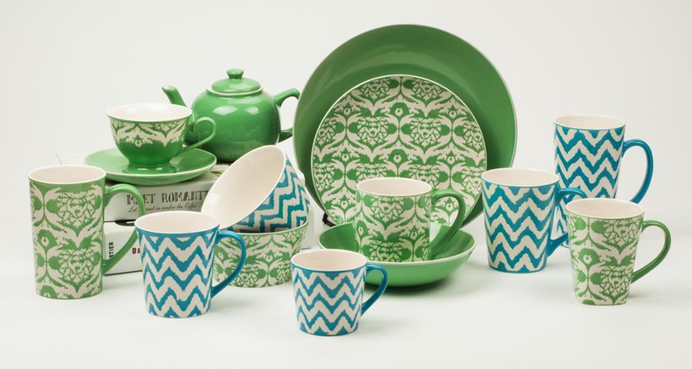 Latest fashion fancy hotelu0026restaurant ceramic crockery two tone color glazed dinnerware set tableware  sc 1 st  Alibaba & Latest Fashion Fancy Hotelu0026restaurant Ceramic Crockery Two Tone ...
