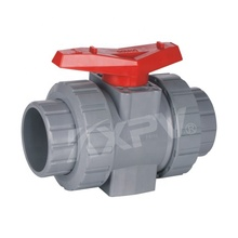 Custom 4 Inch 6 Inch 8 Inch Suhu Sedang True Union Plastik Cpvc PVC Manual Socket Ball Valve