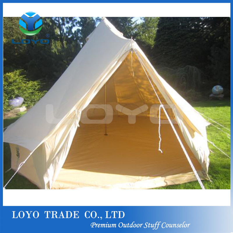Large Space Outdoor Camping Bell Tent Canvas Tent Cotton Tent