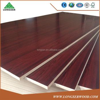Etonnant Furniture Grade Wood Grain Colored MDF Board