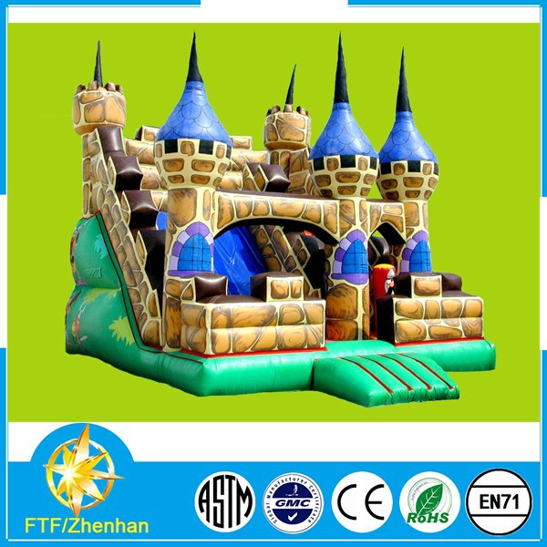 Happy castle inflatable