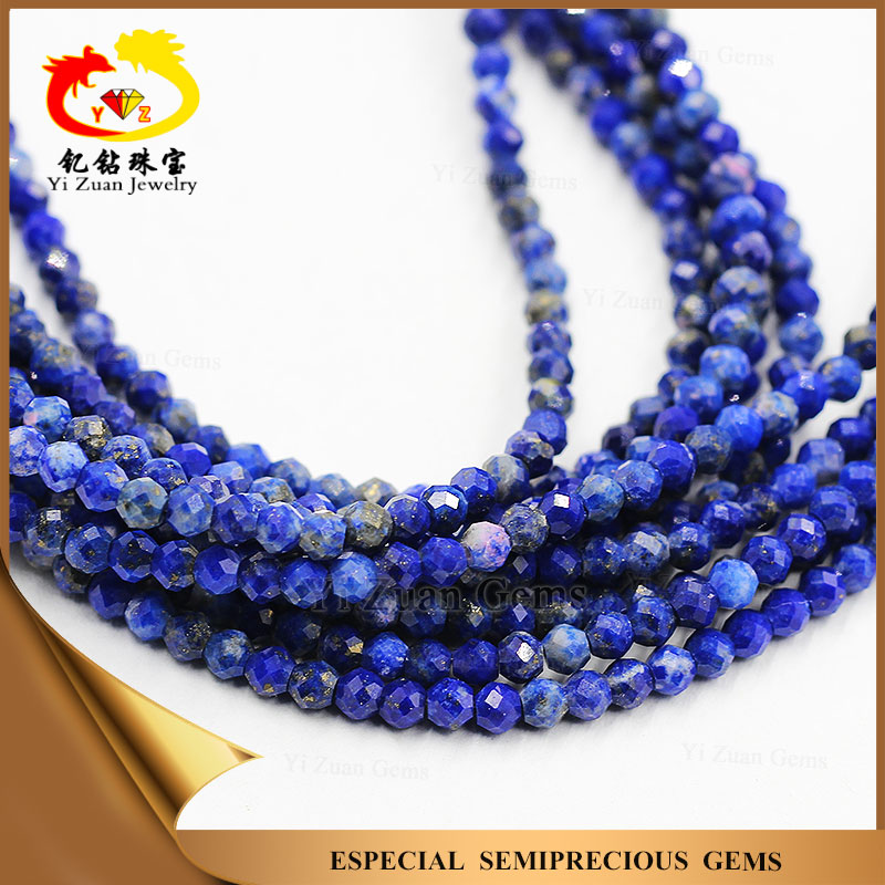 Natural Lapis lazuli Wholesale Faceted Beads