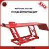 Manufacturer Competitive Price 1000lbs Capacity Steel Scissor Hydraulic Motorcycle Lift for Sale