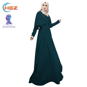 Zakiyyah 1023 Pakistani Evening Dress in Bat Style Long Sleeve Burqa for Women Show Thin Custom Muslim Clothing Fashion Designs