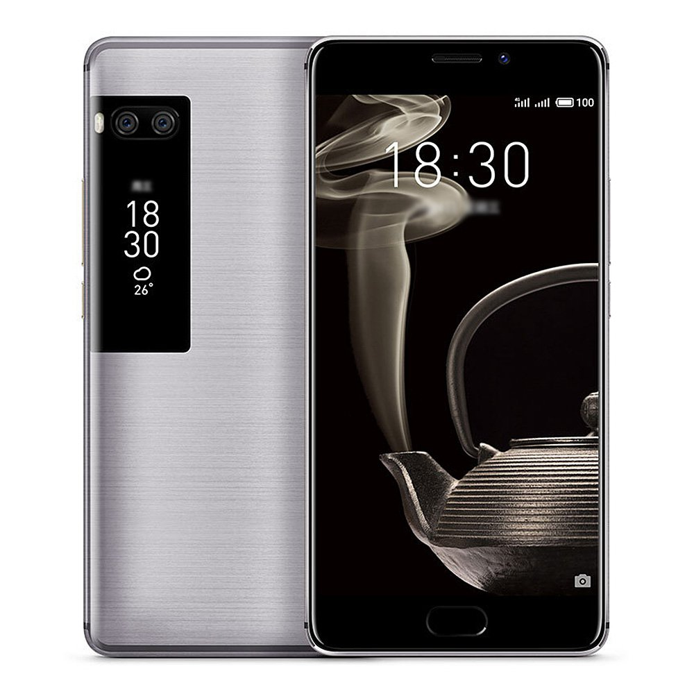 New Arrival Meizu Pro 7 Plus 5.7 Inch Smartphone 2K Screen 6GB 64GB MTK Helio X30 Deca Core Dual 12.0MP Android OS Touch ID