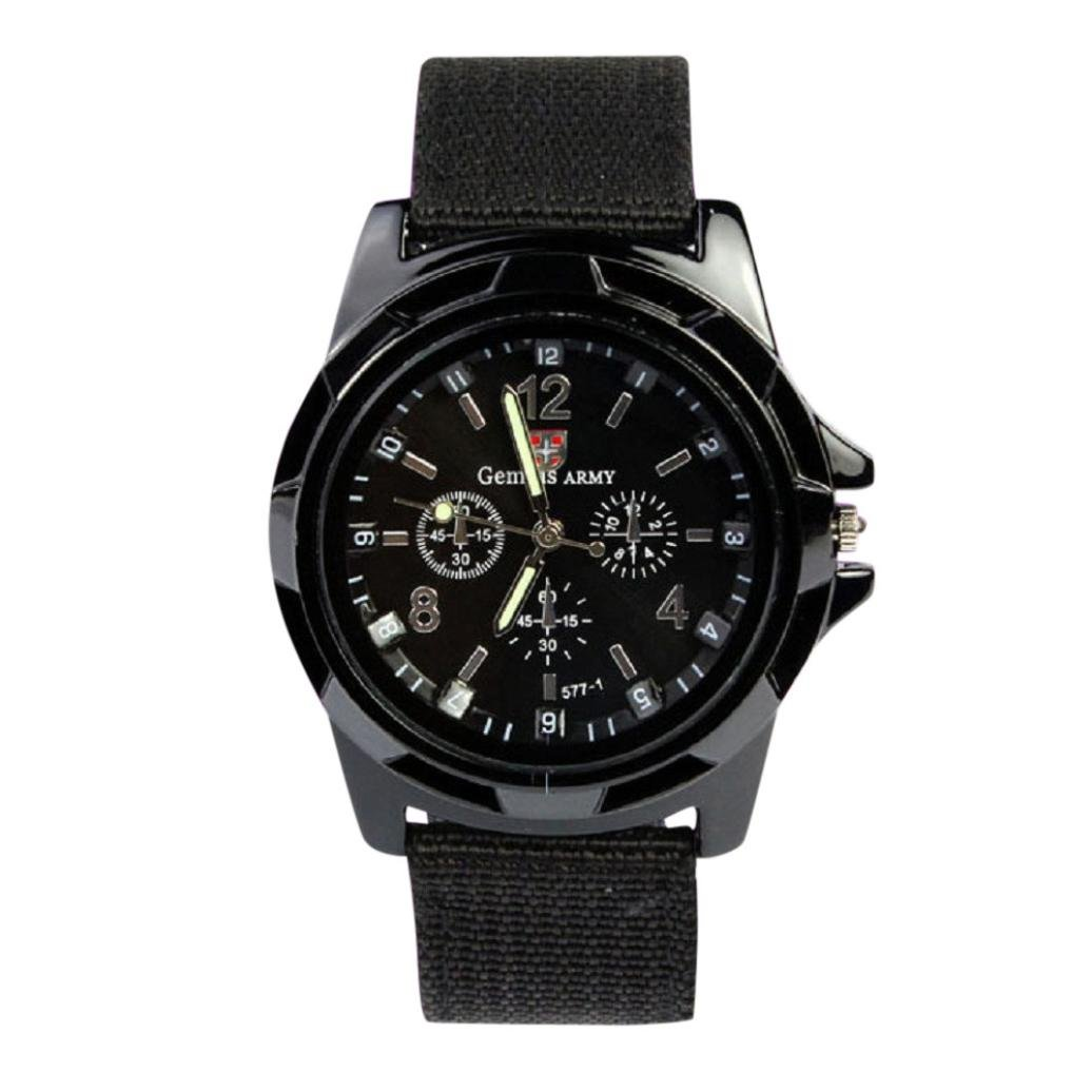 FAPIZI Clearance Mens Watch}✿Gemius Army Racing Force/Military/Mens Officer/Fabric Band Watch