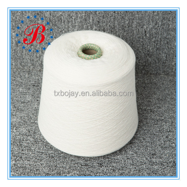 Wholesale High Quality Nm 28/1 100% Linen Yarn Semi-bleached wet spun Melange Color long fiber Flax yarn