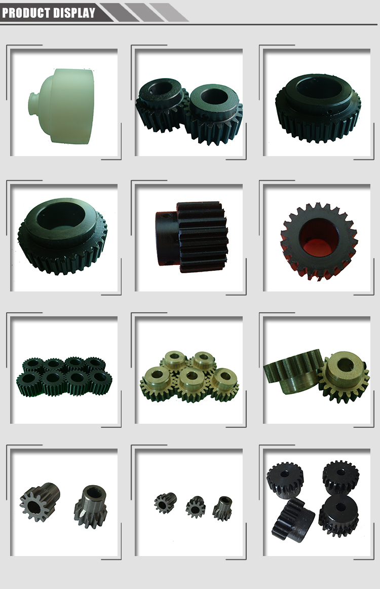 All sizes attractive design metal axial custom industrial straight spur gear