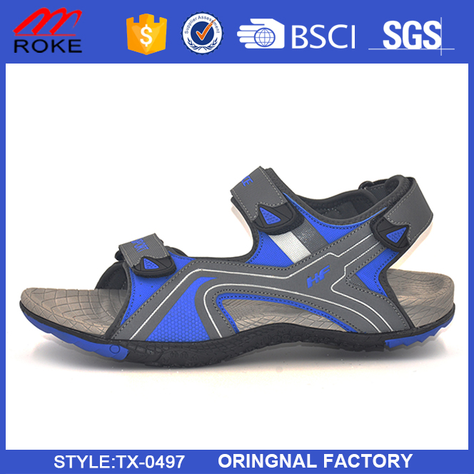 Latest PU Sport Sandal Shoes 2017 New Men Beach Sandals