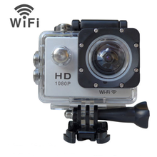 Shenzhen OEM 1.5inch screen 12MP sj4000 newest wifi remote control waterproof W8 action sports camera
