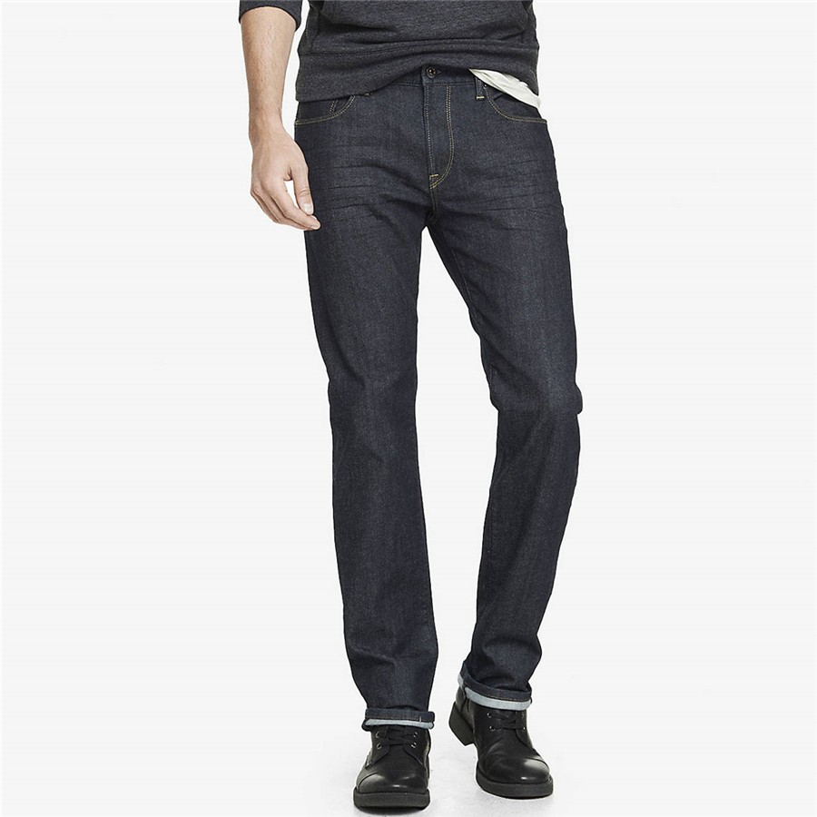 Pant black tight leg colombian jeans