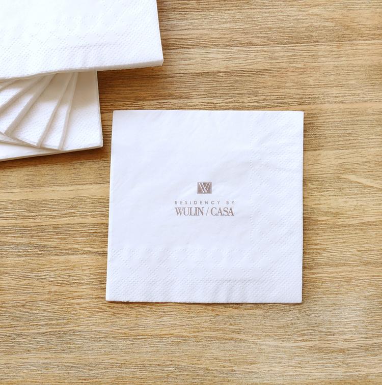 Blanco Lujo airlaid Fiesta Servilletas Premium Calidad Tela De Lino sentir Papel Tissue