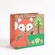 Eco-Chic Woodland Fox Medium Gift Bag guangzhou paper bag