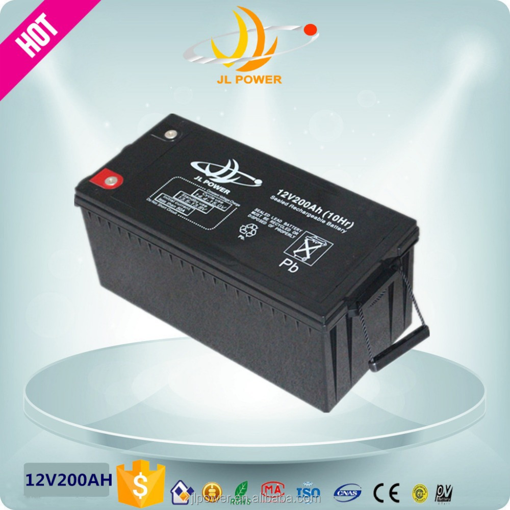Industrail Maintenance free AAA exide Battery 12v200ah manufacturer for UPS/EPS/Solar use