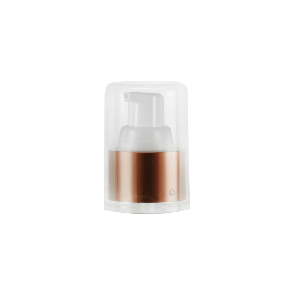 Treatment pump Airless Pump Cap for Cosmetic Tube