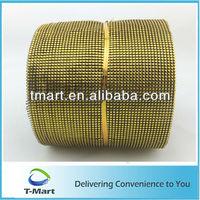 decorative rhinestone mesh fabric