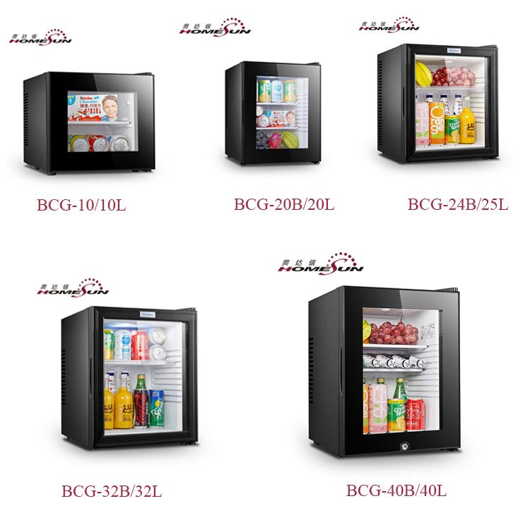 Réfrigérateur automatique pour hôtel, Mini-Bar, dégelant, 85L, vente en gros