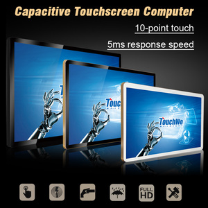 24 inch industrial touch screen all in one PC with led back-light
