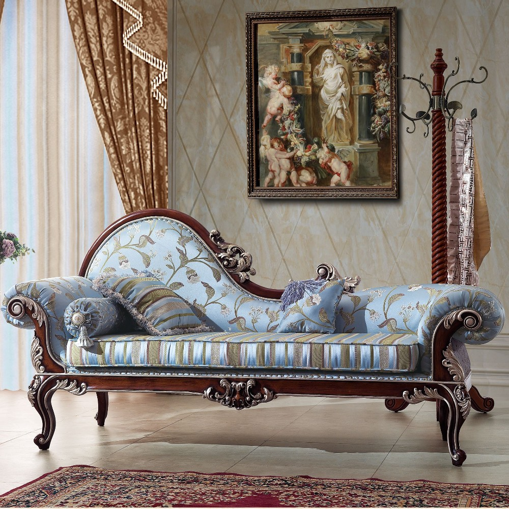 Tyx1324-antique French Chaise Lounge Sofa Chair/ Classic Bedroom ...