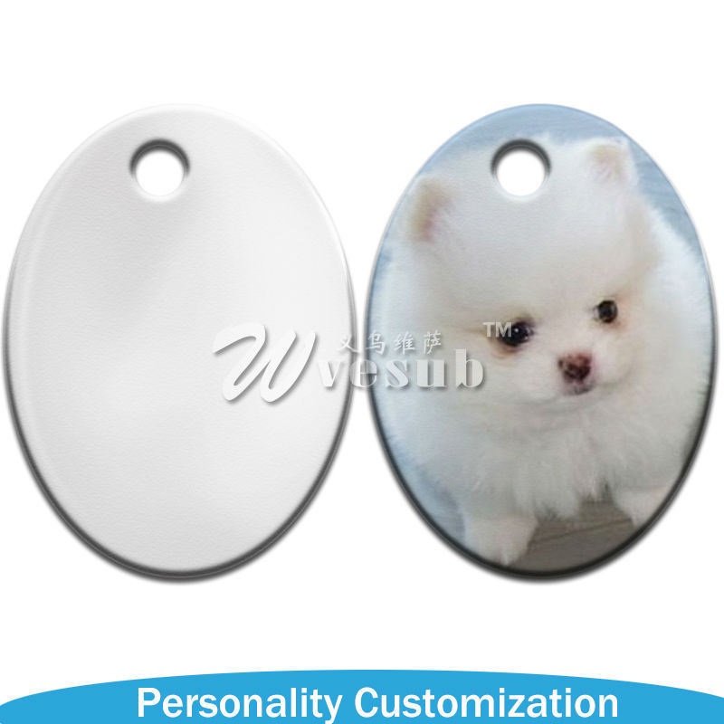 Photo Printable Blank Coated Sublimation Pet Tag