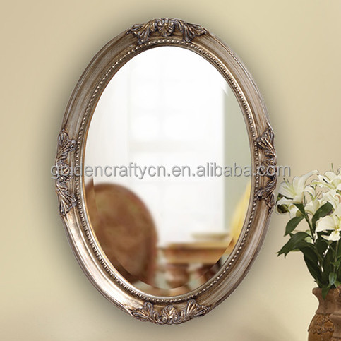 accent oval decorative wall mirror frame