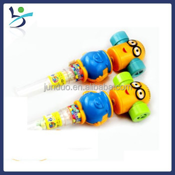 Minions Shaking Whistle Giggle Candy Toy