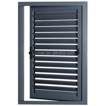 European standard waterproof outdoor aluminum windows blinds