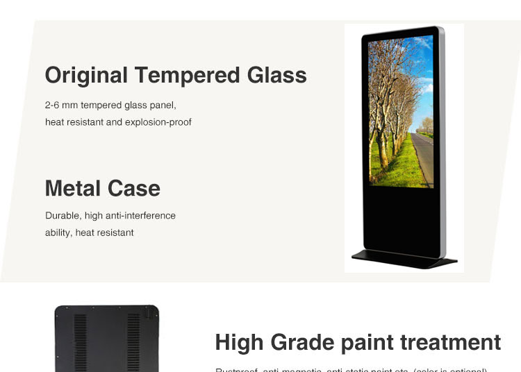 55 inch network android internet wifi capacitive touch panel