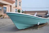 LIYA 25ft fiberglass fishing boat small cabin outboard engine yacht