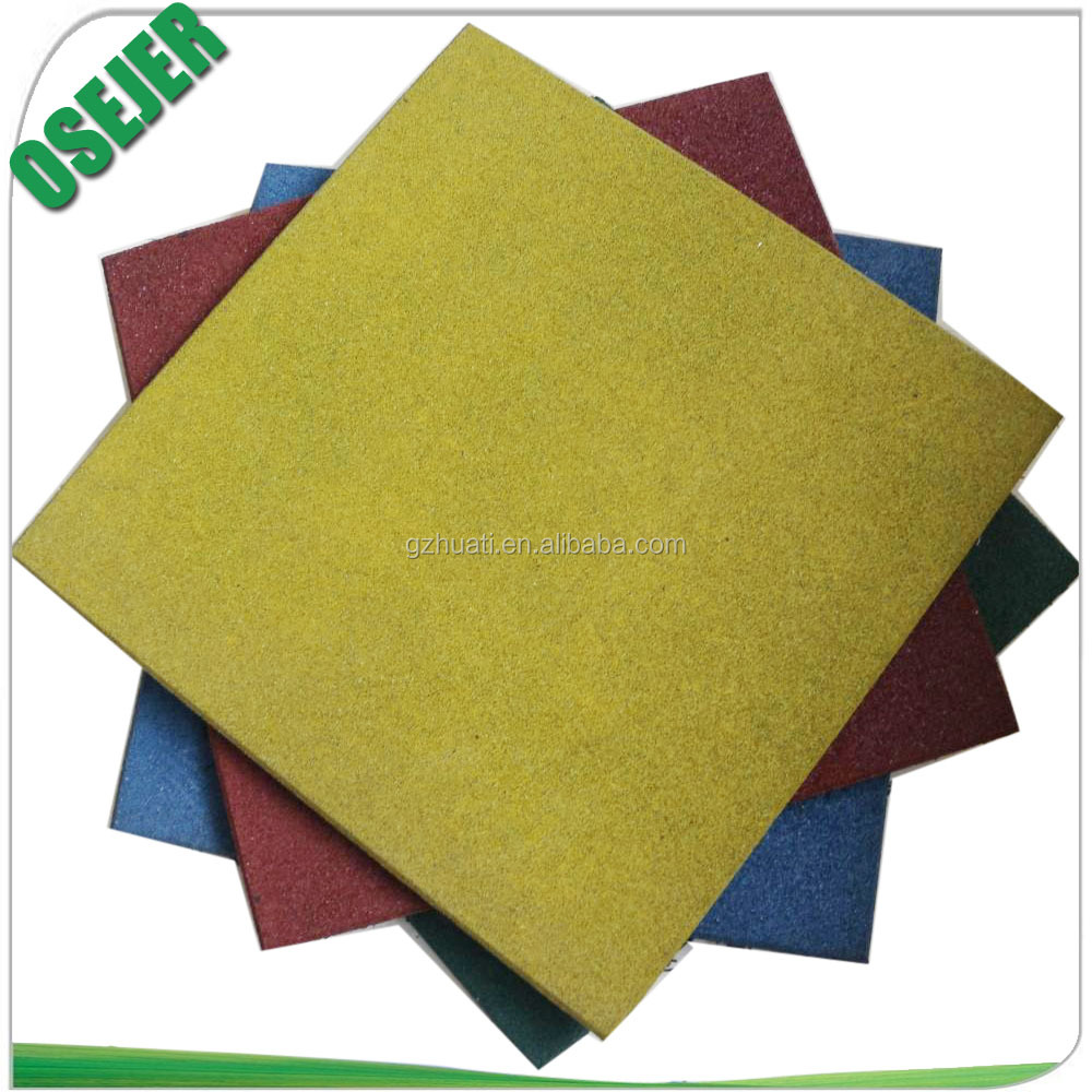 Hot sell safety rubber flooring tiles for outdoor playground