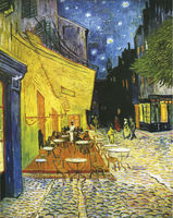 oil paintings paris street scenes on canvas by van Gogh