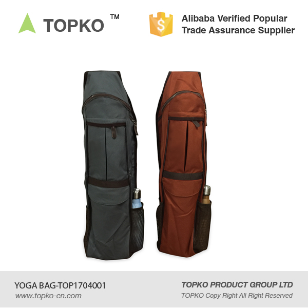Full-zip Yoga sling Mat Bags with Cargo Pocket