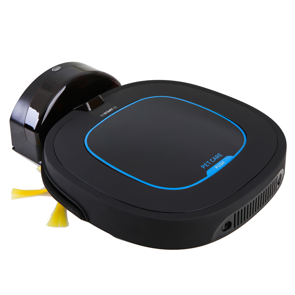 Intelligent Robotic Wet Dry <strong>Cleaner</strong> with 150ml Water Tank Floor Mop Vacuum <strong>Cleaner</strong>