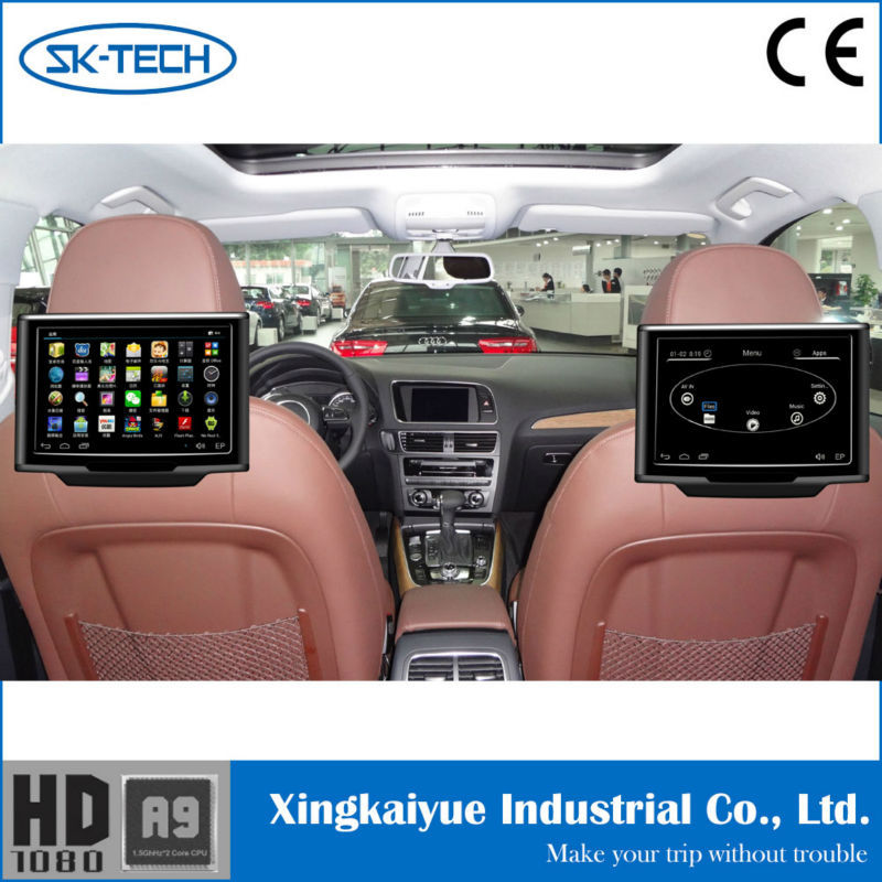 New Arrived 10inches Touch Screen Headrest Car Back Seat