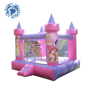 Cheap mini inflatable Princess bouncer for kids, cheap inflatable bouncers for sale