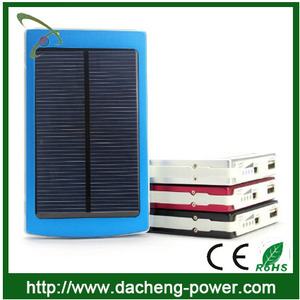 Top selling! 10000mAH portable solar panel charger for Iphone,Samsung,MP3