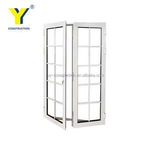 Shanghai YY USA standard used french doors and lowes french doors exterior / used exterior french doors for sale/impact doors