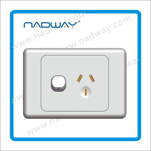 Living Room Wall Light Switch Wall Type Switch Board One Gang One ...