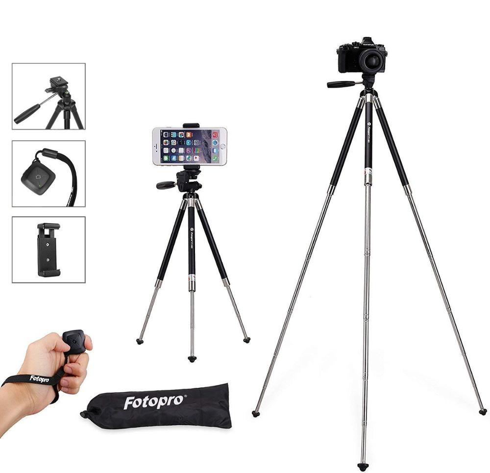 Fotopro verstelbare mobiele video camera stand tripod holder voor smartphone