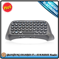 2014 New Design Wireless Bluetooth Keyboard for Playstation 4 Controller, repair parts for ps4