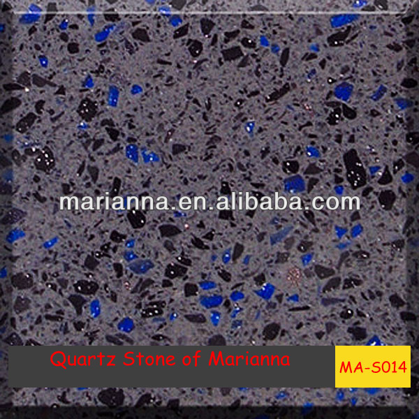quartz stones for outer walls MA-S014 artificial granite tops marble flooring