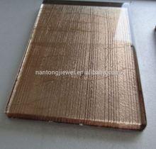 azulejos del bao de oro de la hoja de oro azulejos de cristal con handdrawing diseos