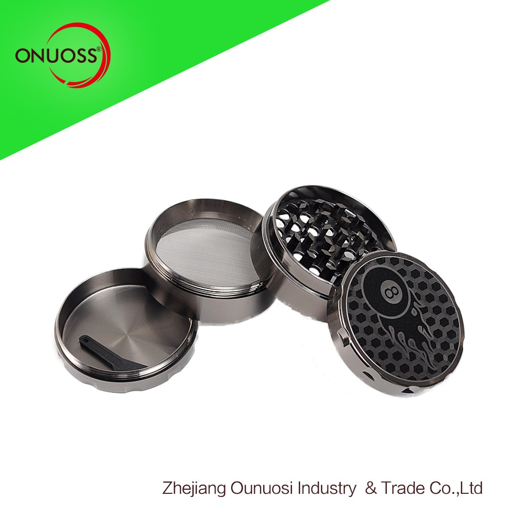 061JA Acrylic Grinder Zinc Diamond Teeth Herb Grinder Manufacturer China Great China Herb Company