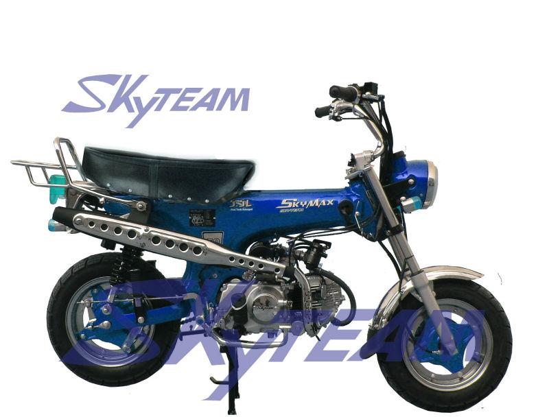 skyteam 50cc 4 temps dax skymax moto cee approbation avec un nouveau r servoir big 5 5l id de. Black Bedroom Furniture Sets. Home Design Ideas