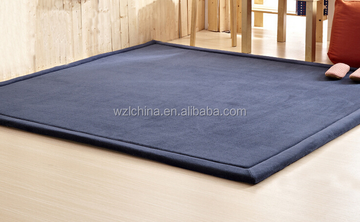 Special Thick Coral Velvet Carpet Japanese Tatami Mats Children Crawling Mat  Living Room Bedroom Floor Mats