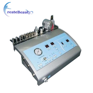 Skin scrubber ultrasonic facial care instrument
