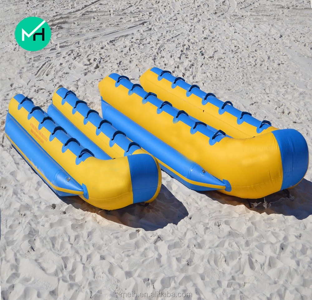 New design outdoor water toys cheap used inflatable banana boat for sale