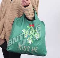 Grocery Foldable Travel Shopping Storage Reusable Eco Tote Bag lady handbag